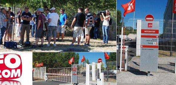 SFR : FO s'est associée à la journée de mobilisation du 6 septembre
